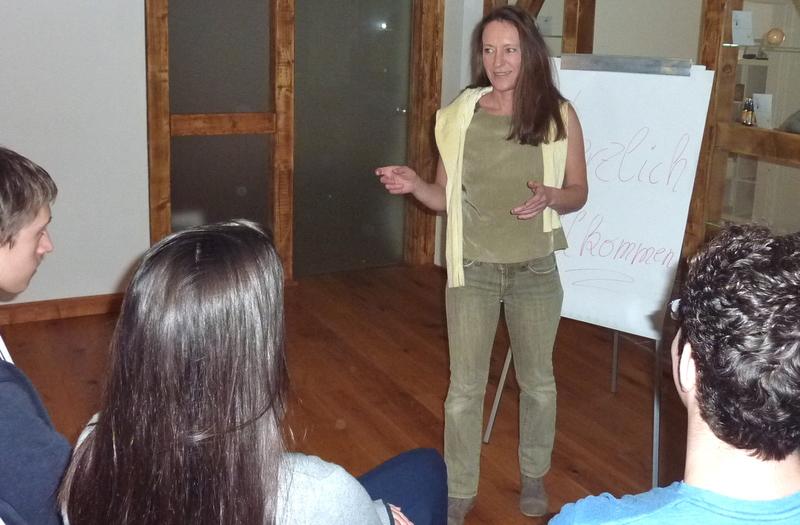 Verena Heinzerling, Zeitzone, Stressbewältigung-Seminar