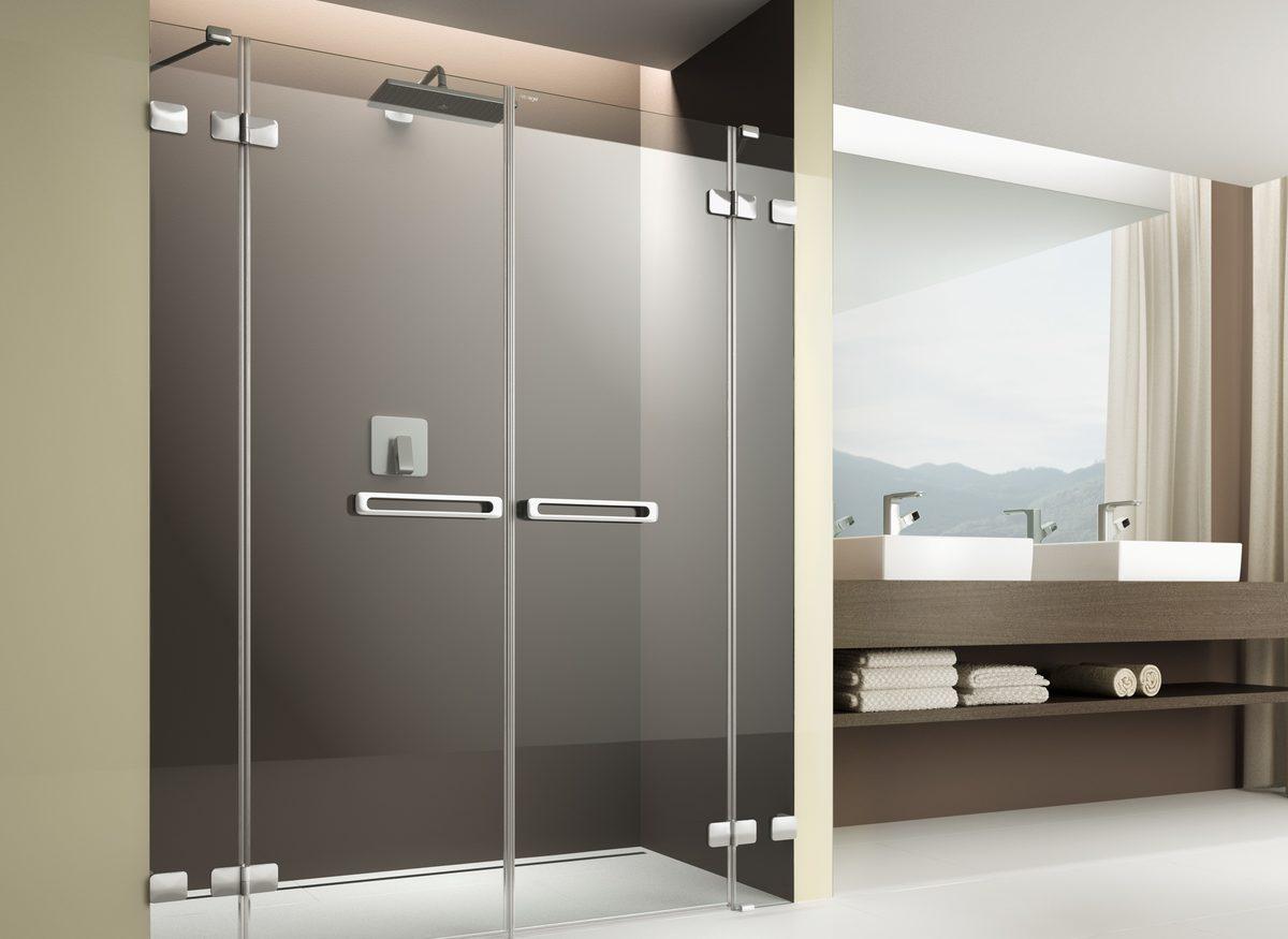 Duschabtrennung   Freiräume Schaffen. Passend Zu Der Neuen Bodengleichen  Dusche Findet Man Auch Duschabtrennungen In Verschiedenen Varianten.