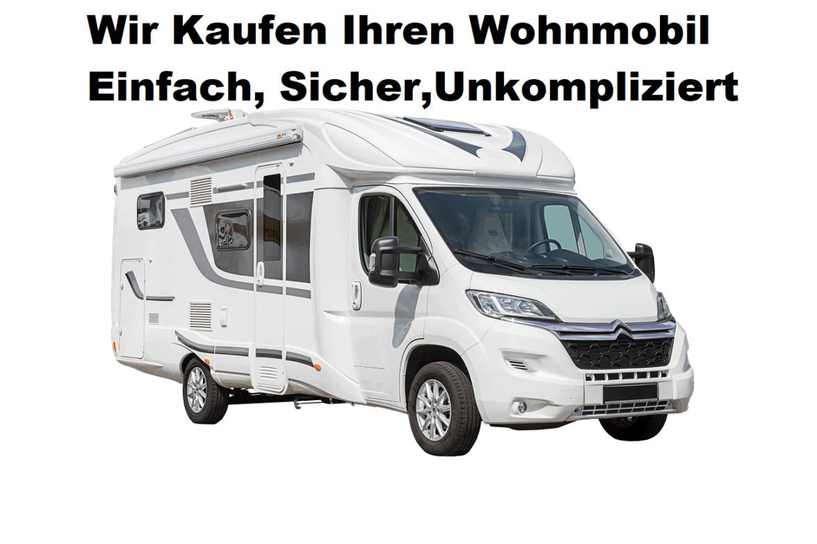Wohnmobil Ankauf Motorschaden, Unfallwagen - W O H N M O B I L
