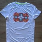 Down Under_soft grip print, Sportshirt Bird-Eyelet-Mesh, Active dry