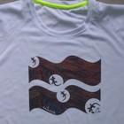 Gecko Wave_soft grip print, Sportshirt Bird-Eyelet-Mesh, Active dry
