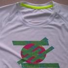 Japan_soft grip print, Sportshirt Bird-Eyelet-Mesh, Active dry