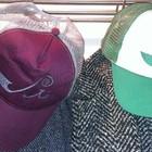 Caps_green white_bordeaux silver