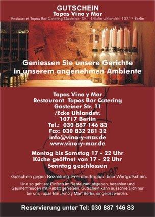 Vino Y Mar Tapas Bar Restaurant Ihr Spanisches Restaurant In