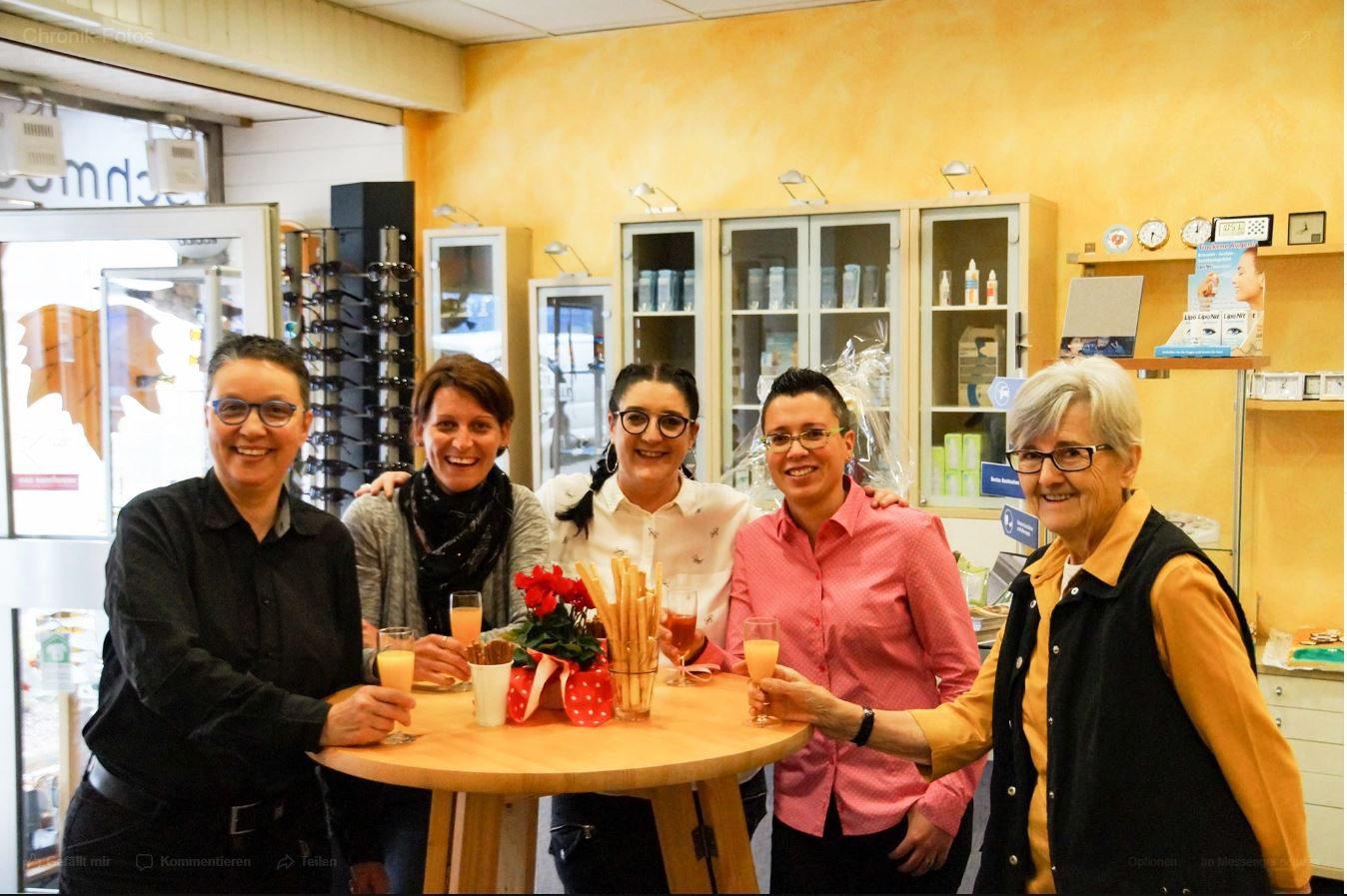 Unser Team von Augenoptik Holl in Püttlingen