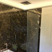 Privat - Bad aus Marmor Marron Emperador Oberfläche poliert