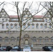 Stadtbad Oderberger Str. - Restaurierung Sandsteinfassade - Foto C. Martin