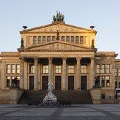 Konzerthaus-Schauspielhaus Gendarmenmarkt - Restaurierung Sandsteinfassade, Foto C.Martin