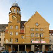 Theater an der Parkaue- Restaurierung Muschelkalk- u. Sandsteinfassade, Foto C.Martin