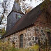Dorfkirche Wittenau - Denkmalpflege Feldsteinverfugung