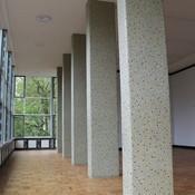 Württembergische Straße 6 - Restaurierung Mosaik Pfeiler - www.bim-berlin.de