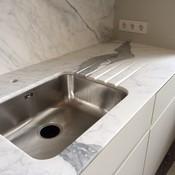 privat - Küchenarbeitsplatte aus Marmor