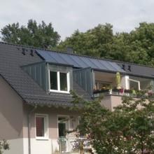 Neubau 8-WE-Mehrfamilienhaus mit Brennwerttechnik und solarer TW-und Heizungsunterstützung