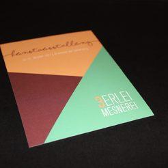 Einladungspostkarte Kunstausstellung