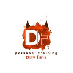 Logodesign Personal Training Diana Fuchs