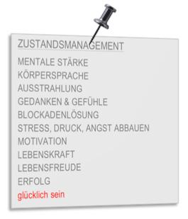 Zustandsmanagementtraining für Menschen mit Veränderungswünschen CoachPower Verena Heinzerling Heidelberg
