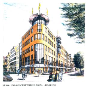Büro- und Geschäftshaus Rizza, Koblenz