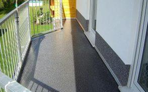 Balkonbeschichtung und Abdichtung Neubau