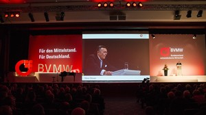BVMW Jahresempfang Präsident Mario Ohoven