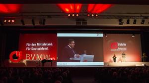 BVMW Jahresempfang mit Sigmar Gabriel SPD
