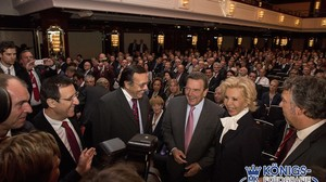 BVMW Preisverleihung mit Altkanzler Gerhard Schröder