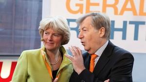 Monika Grütters Eberhard Diepgen 2011