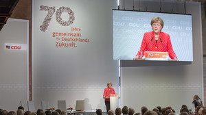 Festakt 70 Jahre Gründung der CDU