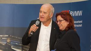 Götz W. Werner und Birgid Zoschnik Forum Führung 2015