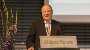 Laudator Peer Steinbrück