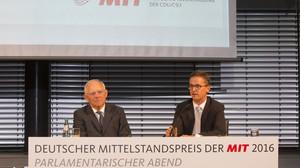 Preisverleihung Deutscher Mittelstandspreis der MIT 2016