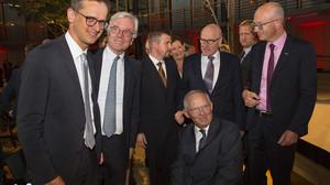 Gratulation an Wolfgang Schäuble für den Deutschen Mittelstandspreis der MIT