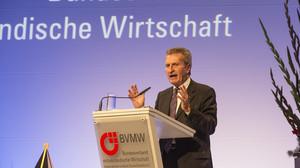 BVMW Jahresempfang Günther Oettinger
