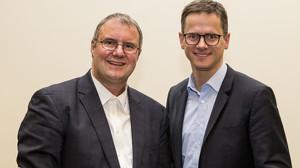 Michael Königs, Fotografenmeister und Dr. Carsten Linnemann, Bundesvorsitzender MIT der CDU/CSU