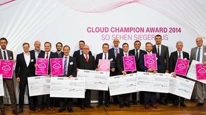 Telekom Cloud Champion Award 2014