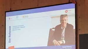 BVMW Forum Führung mit  Reinhard. K. Sprenger Axica 2014