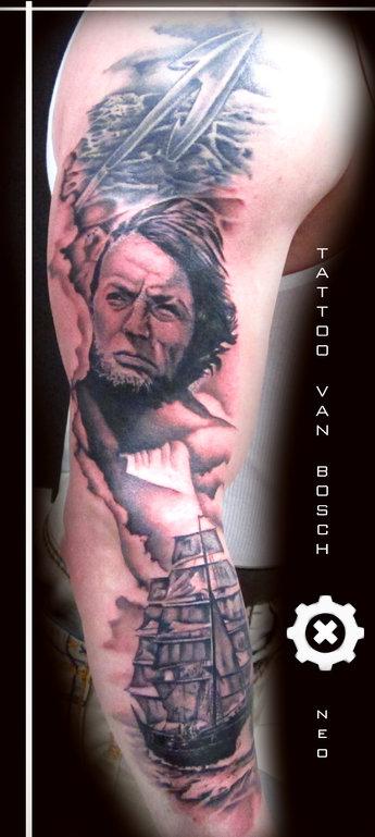 Tattoo van Bosch, Van Bosch Tattoo Bodenmais, Tattoo Bayerischer Wald, Bayerwald Tattoo, Tattoo Bodenmais, Tattoo Zwiesel, Tattoo Regen, Bayrischer Wald Tattoo, Neo Van Bosch, Moby Dick,