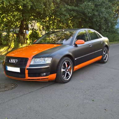 Carwrapping Beispiele