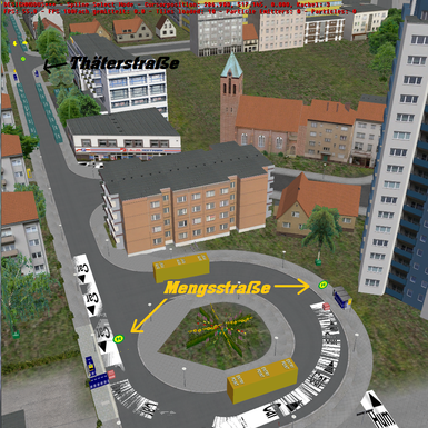 Wendeplatz Mengsstraße