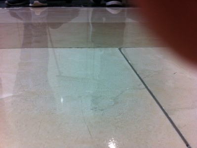 Kristallisation von kalkhaltigen Böden