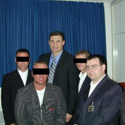 Personal protection for boxing champion Vitali Klitschko, University Hospital Freiburg