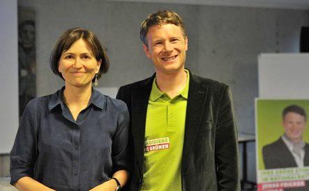 Regula Rytz und Jonas Fricker