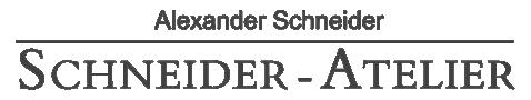 Alexander Schneider, Schneider - Atelier