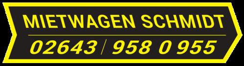 Mietwagen Schmidt - persönlicher Fahrservice