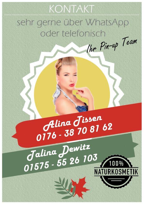 Kontakt: Alina Tissen 0176 - 38 70 81 62
