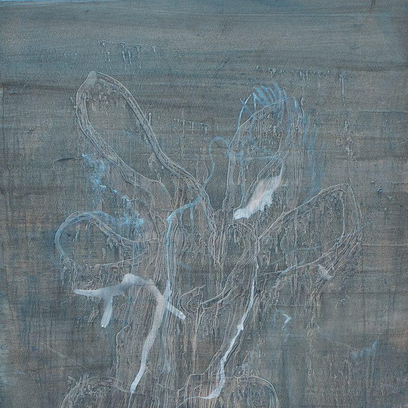 """60 x 40- Oil/MdF - """"field"""" floral"""