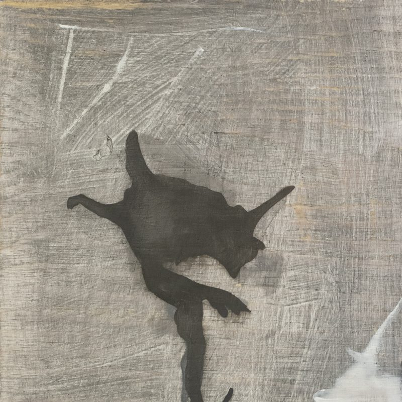 "30x24, Öl_Holz, ""falling angel"", 2019"