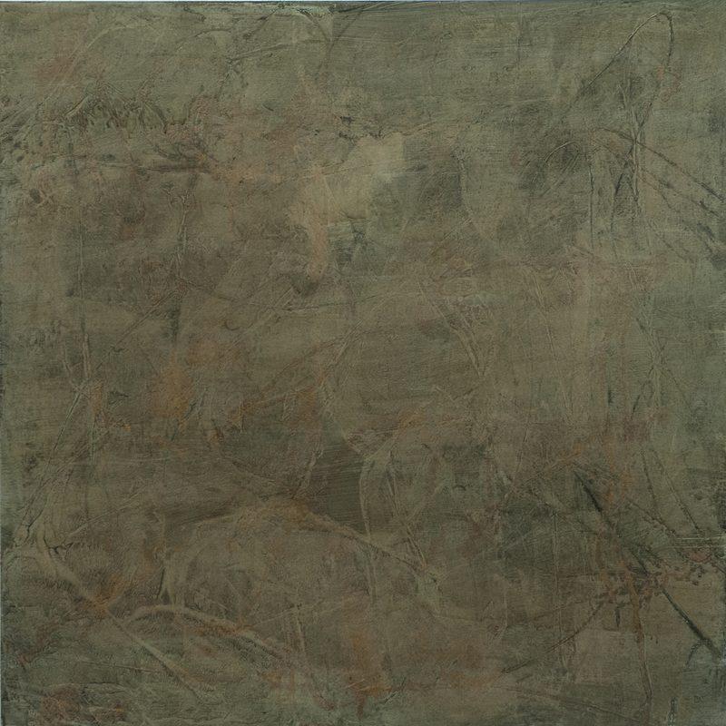 """140 x 140 - Mischtechnik/MdF - """"cover of skin"""""""