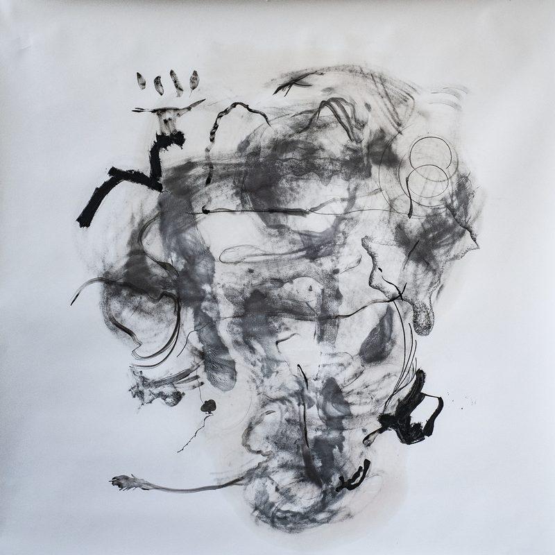 140 x 140 Mischtechnik/Papier - O.T., 2019