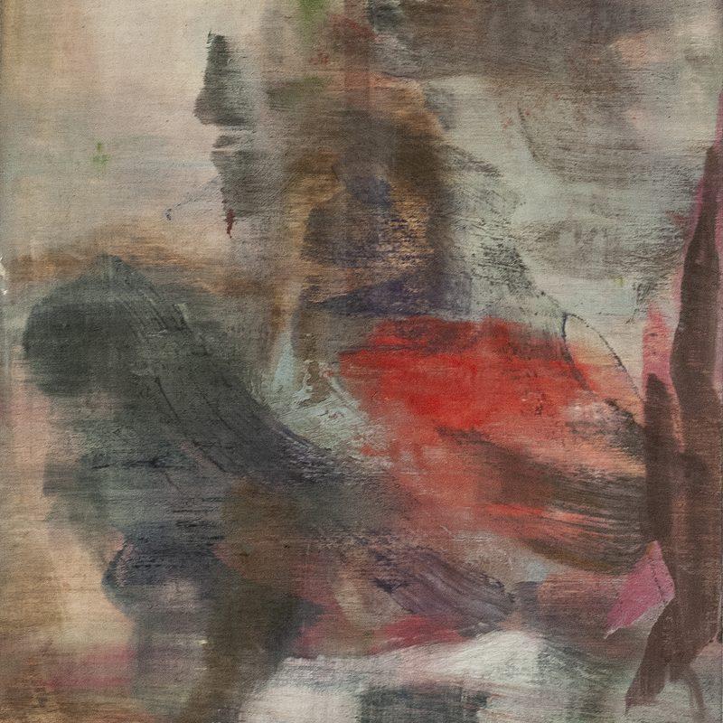 """21x15, Öl_Holz, """"hommage a Lassus"""", 2019"""