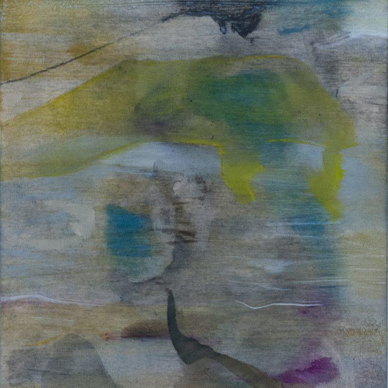 """21x15, Öl_Holz,""""urtieren"""", 2019"""